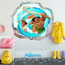 3D Wall stickers Disney Vaiana