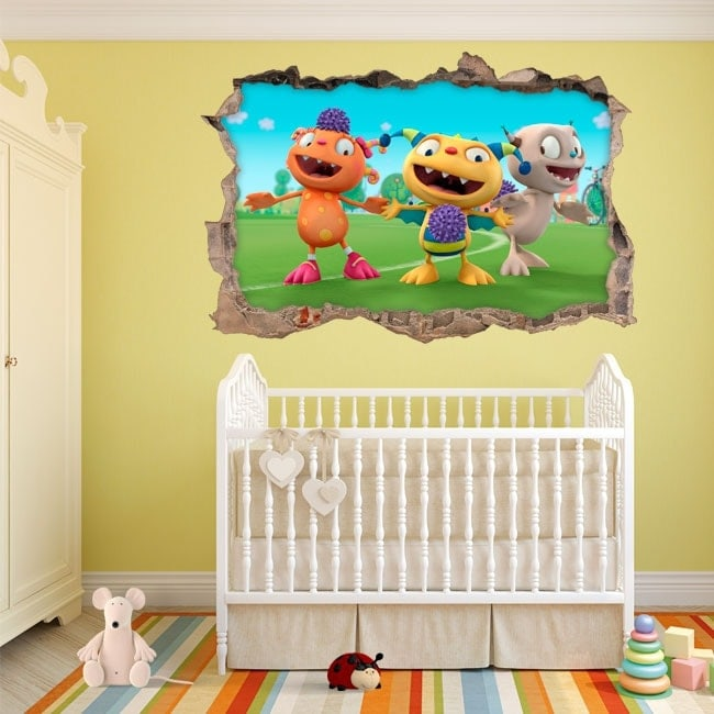 Wall Stickers Henry the happy monster