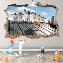Wallpapers Shaun 3D sheep