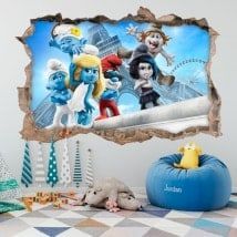 Wallpapers 3D smurfs