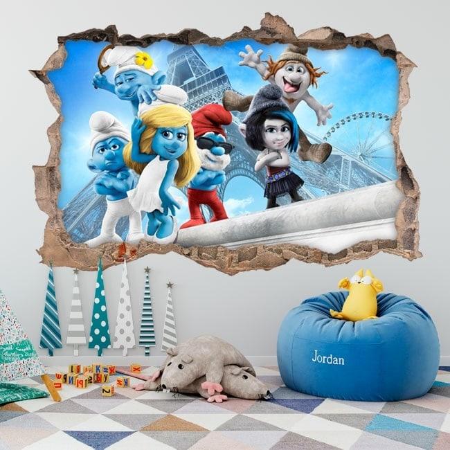 Wallpapers 3D smurfs