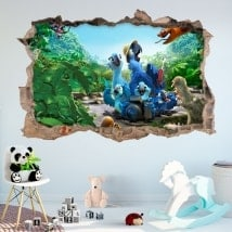 Wall stickers 3D river 2
