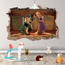 Children's vinyls Tangled Rapunzel Disney 3D