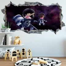 Wall stickers the ice age
