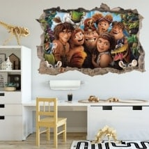 Wall stickers The Croods 3D