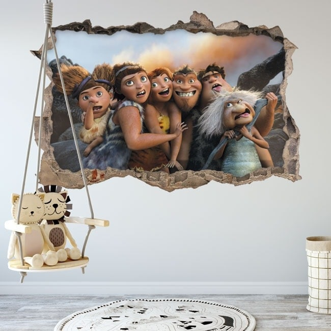 3D children's vinyls The Croods
