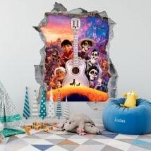 Kids' decals Coco Disney Pixar