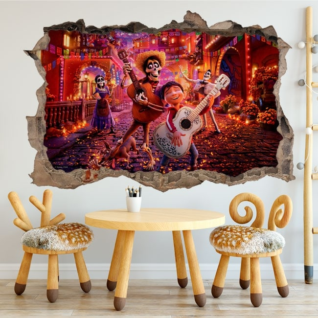 Vinyl and stickers Coco Disney Pixar
