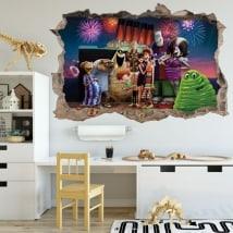 Decorative vinyl Hotel Transylvania 3D