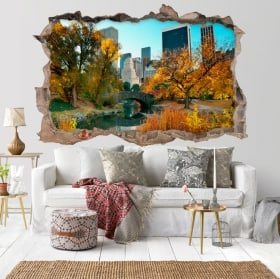 Vinyl New York Central Park 3D