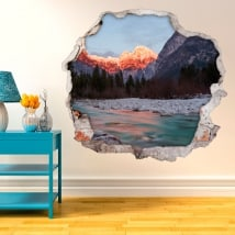 Wall murals nature in Slovenia 3D
