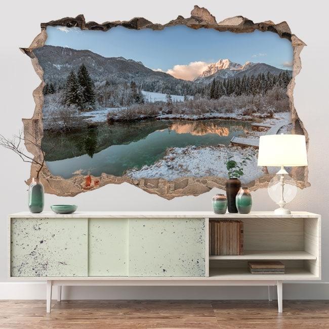 Vinyl Zelenci nature reserve 3D