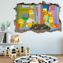 Stickers The Simpsons 3D