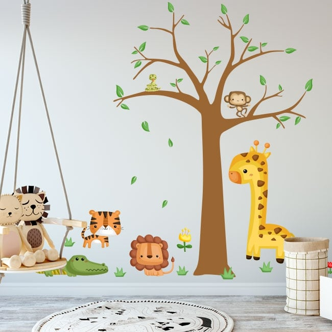 Children's vinyl and animal stickers