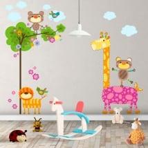 Children's vinyl animals nature