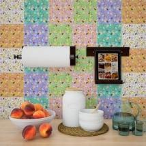 Vinyl adhesive tiles