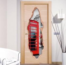 Decorative vinyl doors London 3D