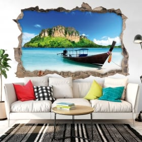 Decorative vinyl Thailand beaches 3D