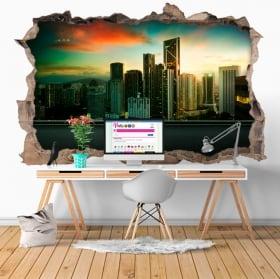 Vinyl 3D city Kuala Lumpur Malaysia