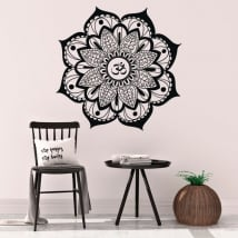 Decorative vinyl Yoga mandalas