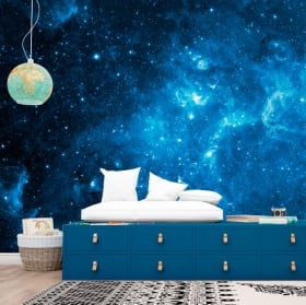 Vinyl wall murals stars in the cosmos 3D