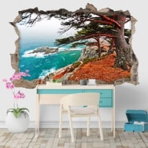 Vinyls cedar tree in Rocky Island 3D