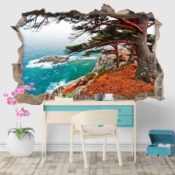 Vinyls cedar tree in Rocky Island 3D