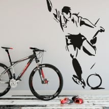 Wall Decal soccer player