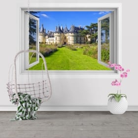 Wall decal Chenonceau castle France 3D