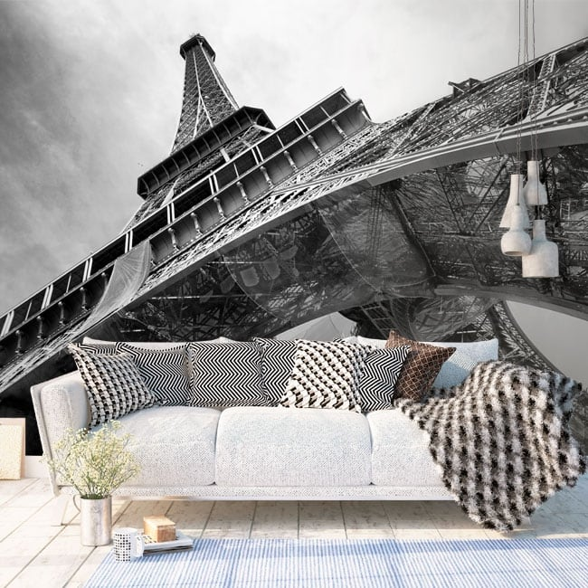 Vinyl wall murals Paris Eiffel Tower