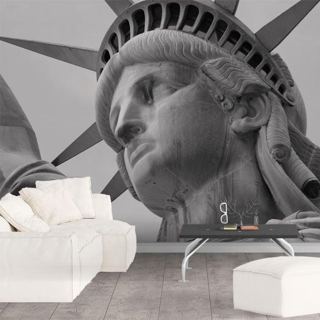 Wall murals statue of Liberty