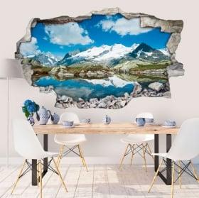 Wall stickers Swiss Alps 3D