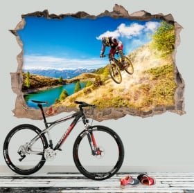 Decorative vinyl mountain bike 3D