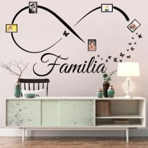Vinyl adhesives infinite family photos butterflies