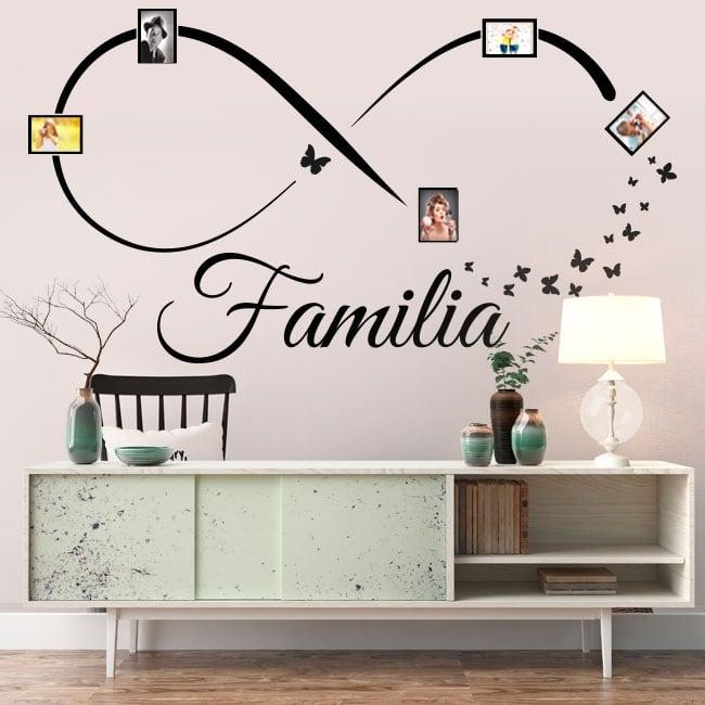 Vinyl adhesives infinite family photos butterflies