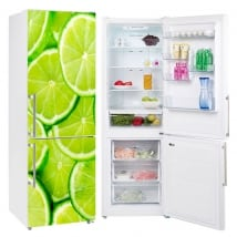 Refrigerator vinyls lemon slices
