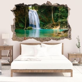 Wall stickers Thailand waterfalls 3D