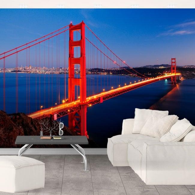 Wall murals Golden Gate bridge
