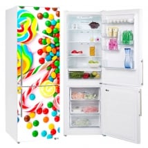 Vinyls for refrigerators and objects candies