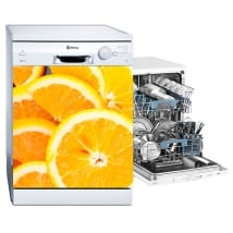 Vinyl dishwasher oranges