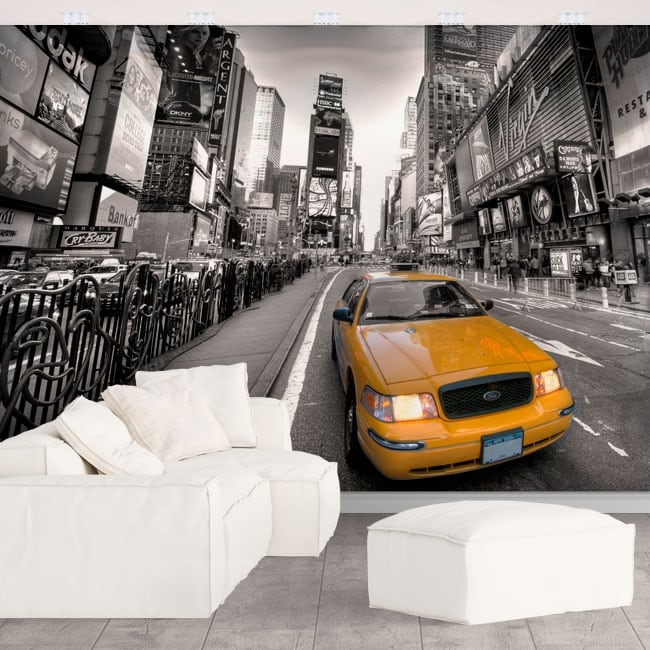 Wall murals New York Times square