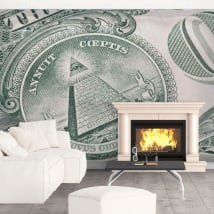 Wall murals United States Dollar