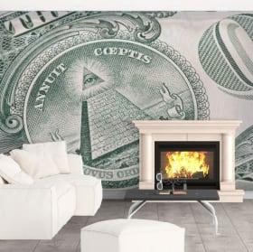 Wall murals United States Dollar