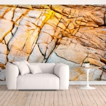 Wall murals rock of the coast