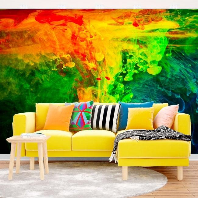 Vinyl wall murals psychedelic