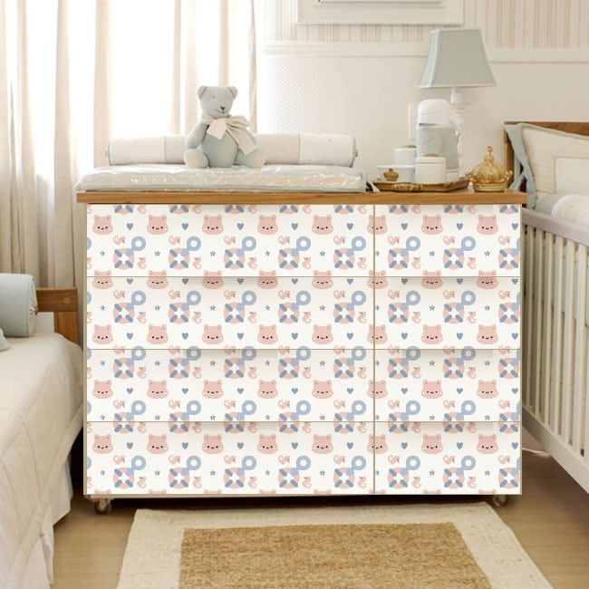 Vinyl chest of drawers baby rooms