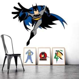 Decorative vinyl walls batman