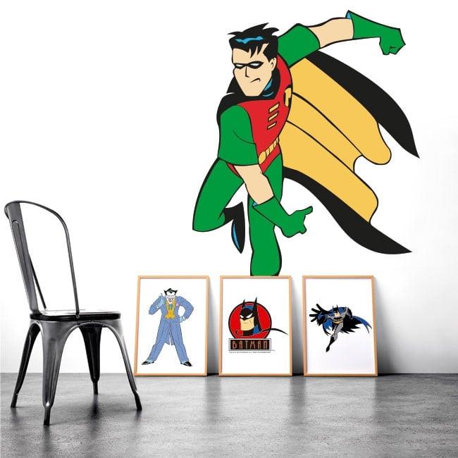 Decorative vinyl robin