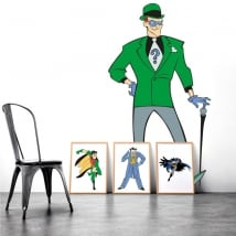 Decorative vinyl riddler