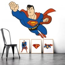 Decorative vinyl superman